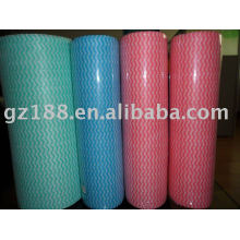 disposable nonwoven wiping cloth rolls